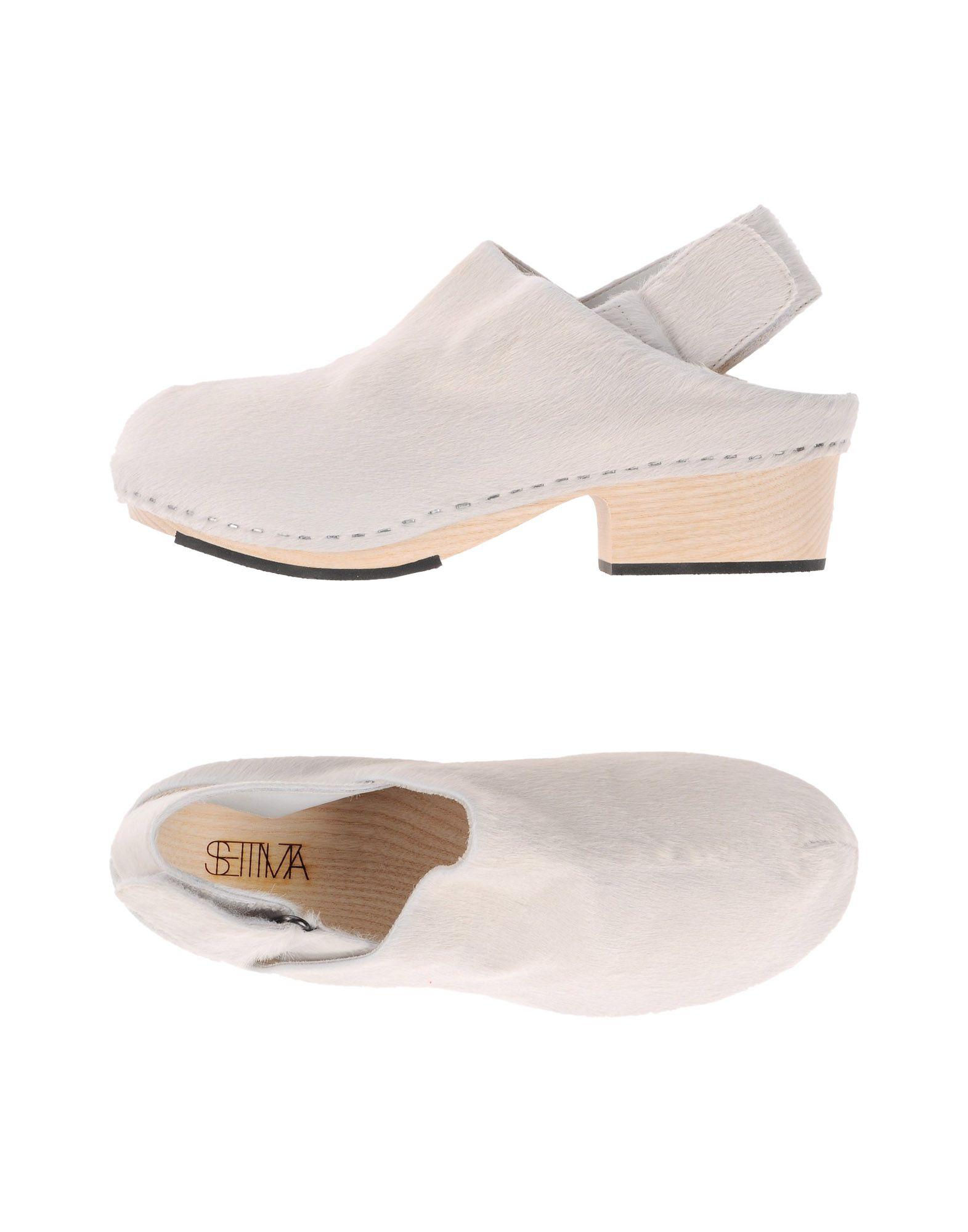 SETTIMA Damen Mules & Clogs Farbe Weiß Größe 5