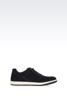 Armani Sneakers Men suede sneaker