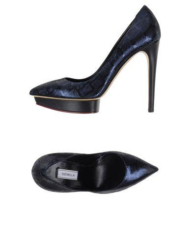 Туфли  Темно-синий цвета