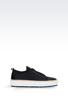 Armani Sneakers Men neoprene sneaker