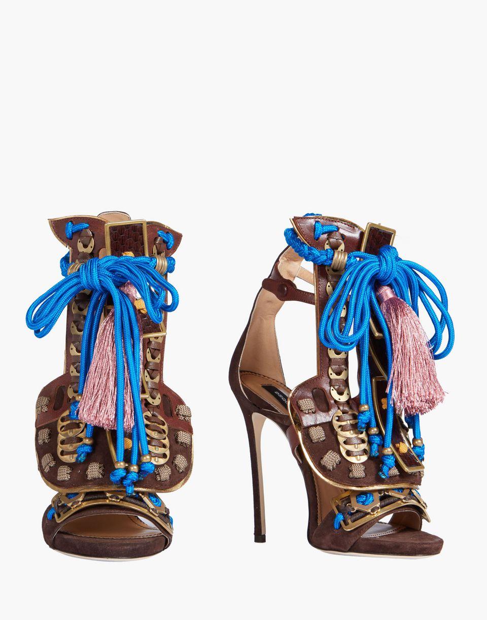 samurai sandals shoes Woman Dsquared2