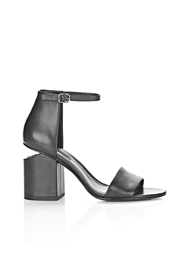 ALEXANDER WANG Heels Women ABBY SANDAL WITH RHODIUM