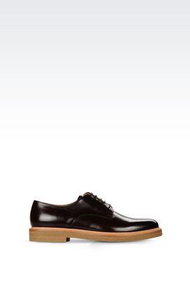 Armani Lace-up shoes Men calfskin derby