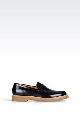 Armani Moccasins Men calfskin loafer