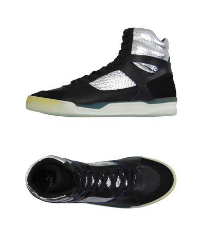 Высокие кеды и кроссовки ALEXANDER MCQUEEN PUMA 11015835RG