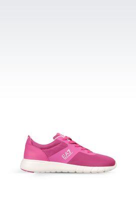 Armani Footwear Women sneaker in technical fabric