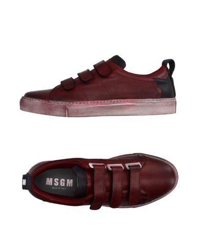 Низкие кеды и кроссовки от MSGM