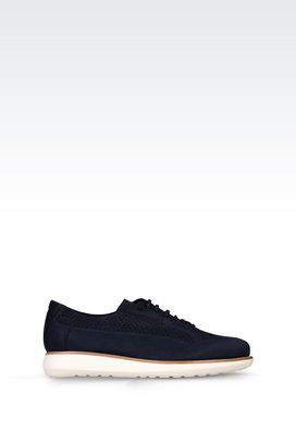 Armani Lace-up shoes Men sneaker in nubuck