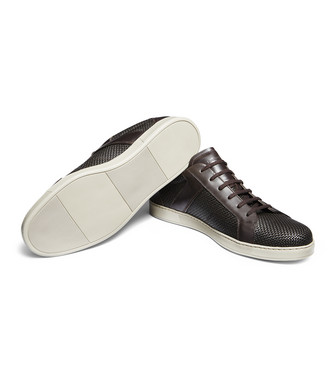 ERMENEGILDO ZEGNA: Sneakers Brown - 11025502UR