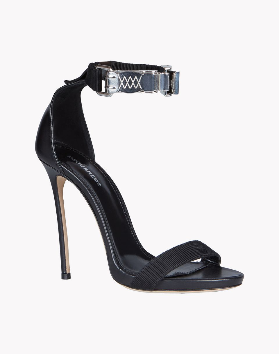 parachute hook sandals shoes Woman Dsquared2