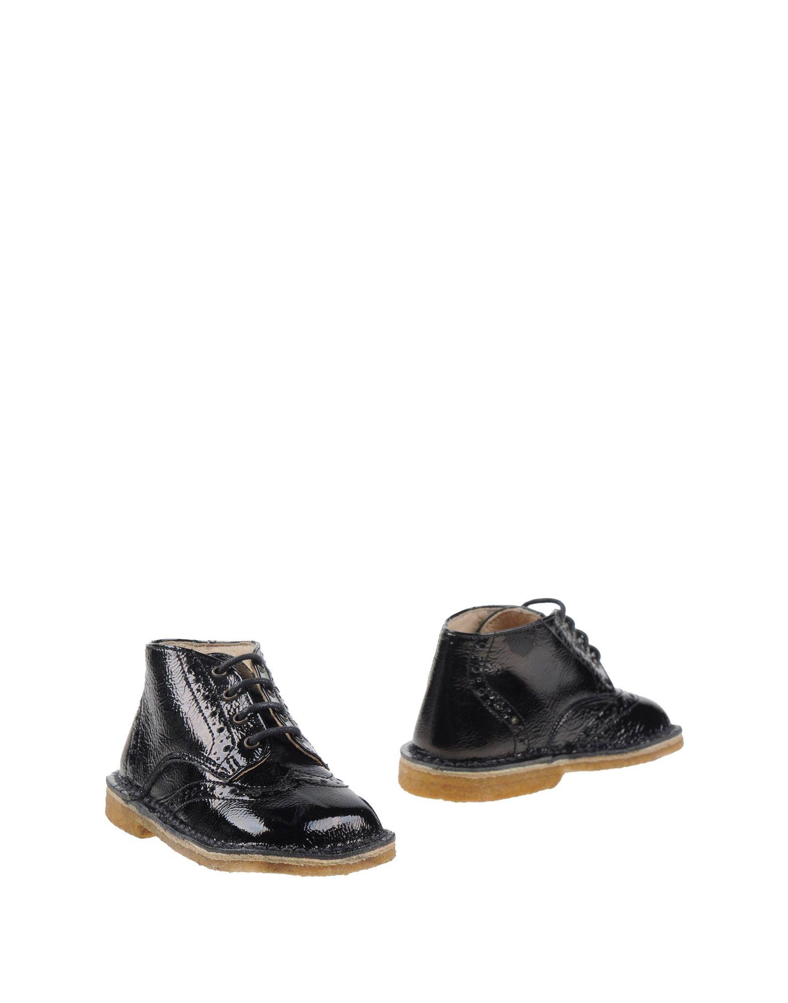 ERBAVOGLIO Jungen 0-24 monate Stiefelette Farbe Schwarz Größe 38