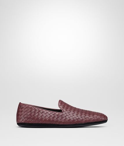 OUTDOOR SLIPPER IN BAROLO INTRECCIATO CALF
