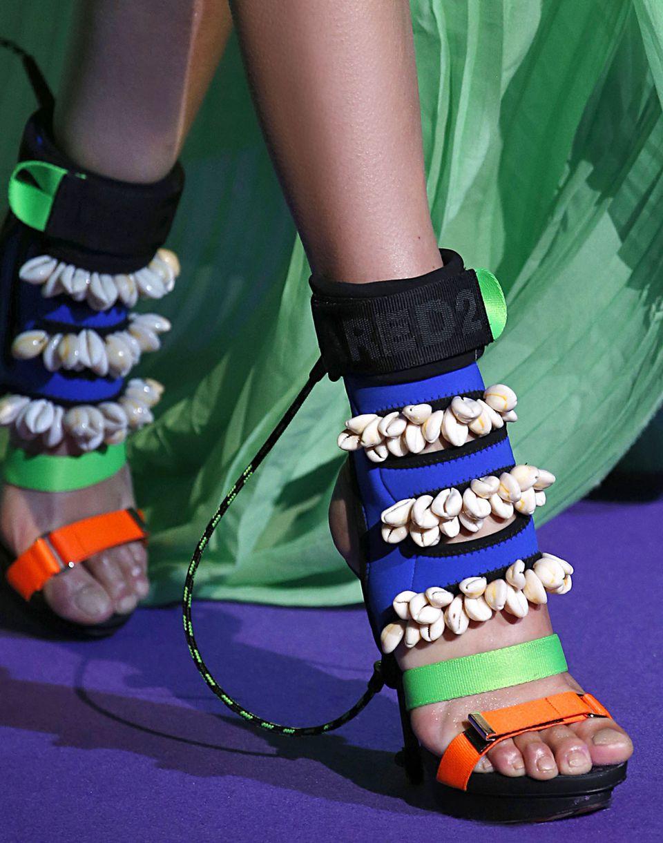 surfer's paradise sandals shoes Woman Dsquared2