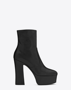 Botte CANDY 80 en cuir noir