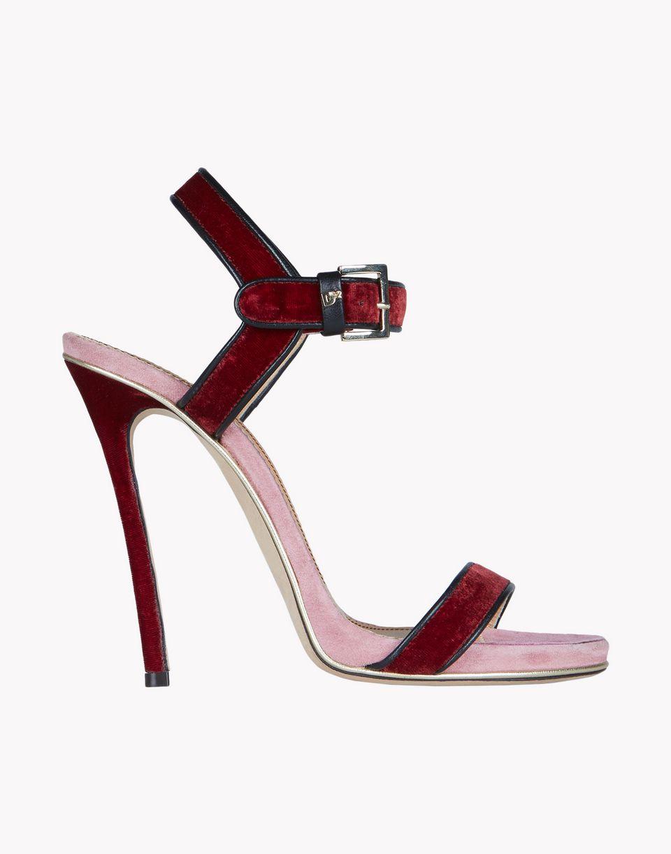 velvet sandals shoes Woman Dsquared2