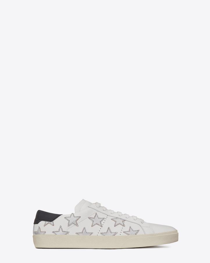 Saint Laurent Signature California Sneaker In White