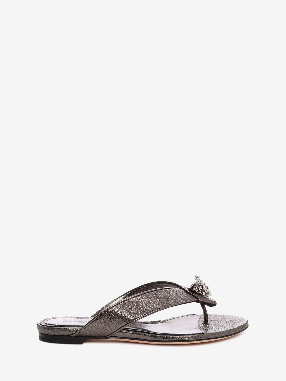 alexander mcqueen female alexander mcqueen flat sandals item 11049191