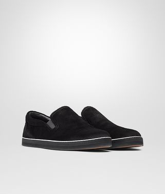 SNEAKER IN NERO CALF