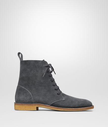 水墨灰麂皮沙漠靴
