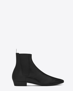DEVEN 25 Chelsea Boot in Black Leather