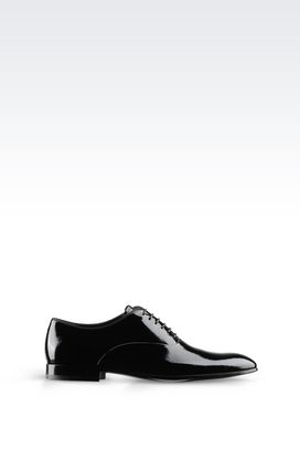 Armani Lace-up shoes Men patent brogue