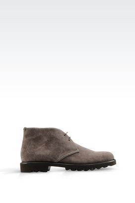 Armani Shoe boots Men demi boot in suede