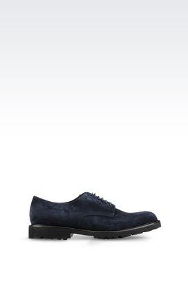 Armani Lace-up shoes Men suede derby