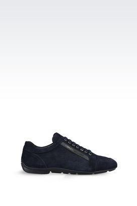 Armani Lace-up shoes Men suede sneaker