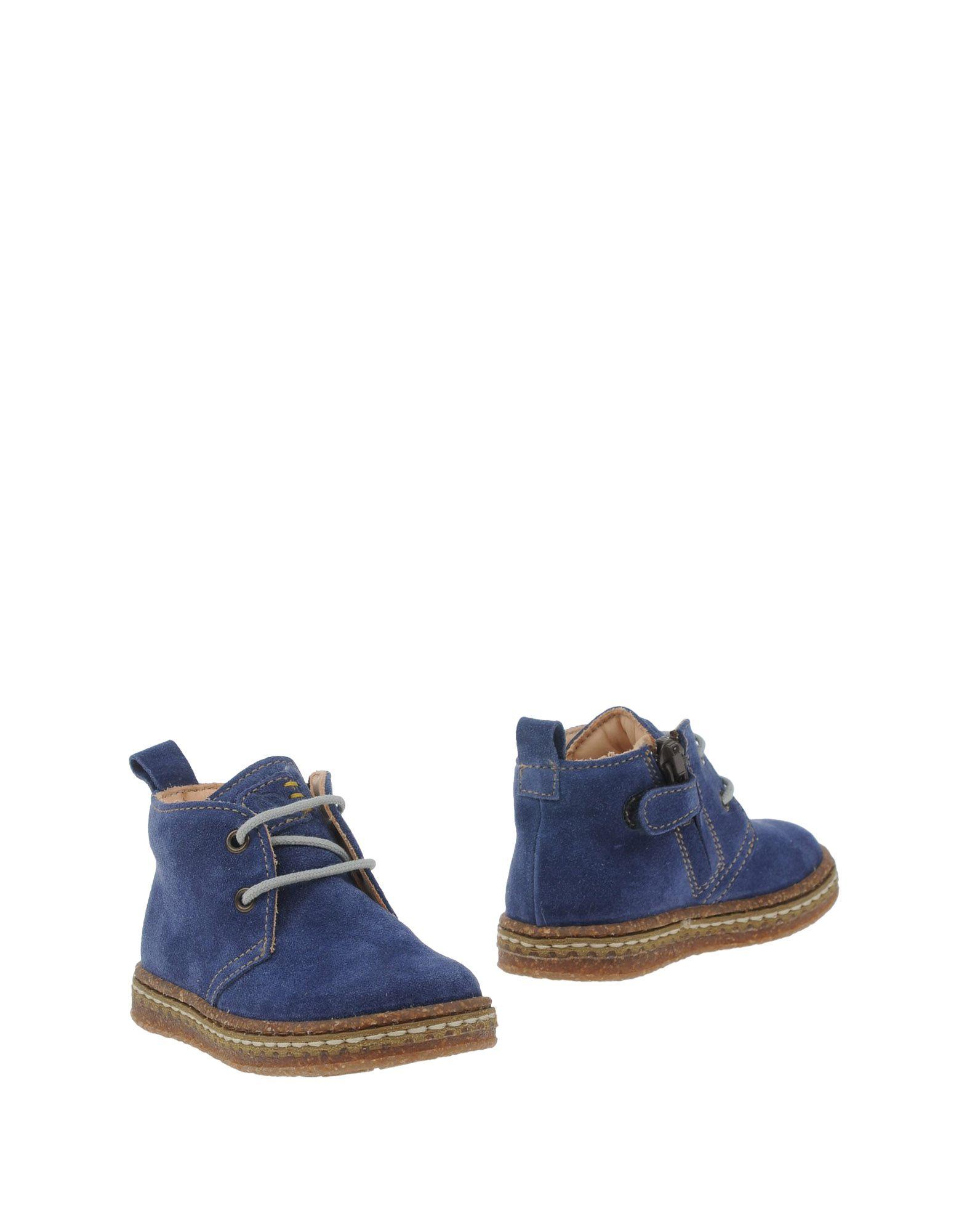 OCRA Jungen 0-24 monate Stiefelette Farbe Taubenblau Größe 38