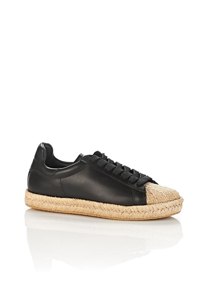 ALEXANDER WANG new-arrivals-shoes-woman RIAN ESPADRILLE SNEAKER