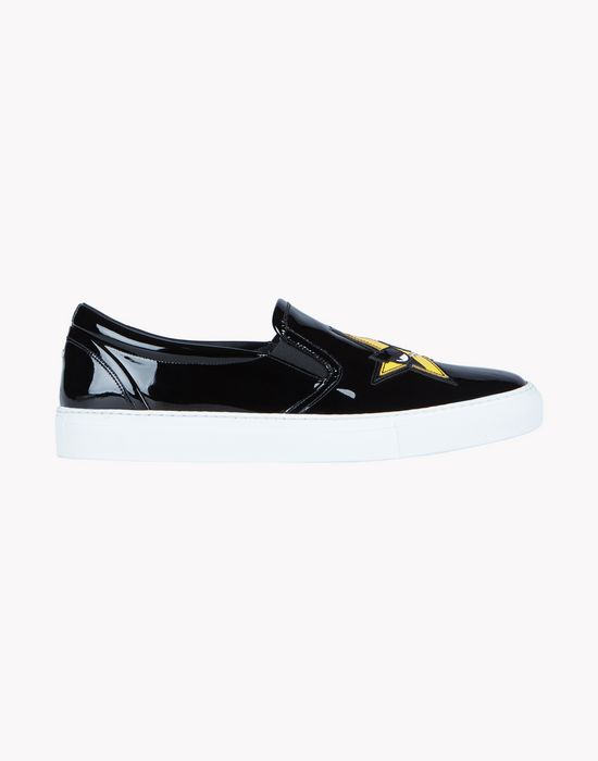 patch punk sneakers shoes Woman Dsquared2