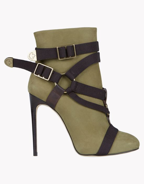 parachute mobile ankle boots shoes Woman Dsquared2