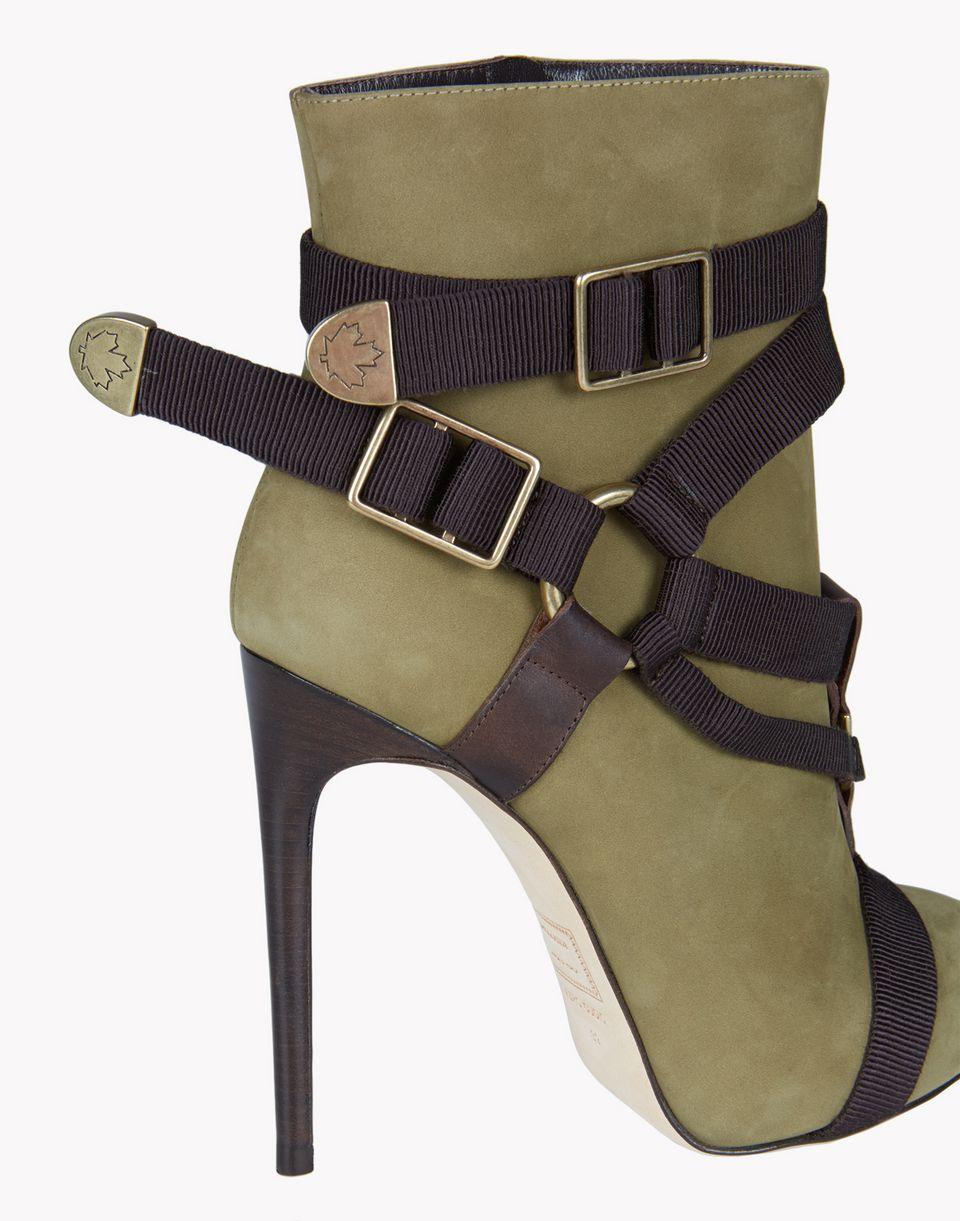 parachute mobile ankle boots shoes Woman Dsquared2