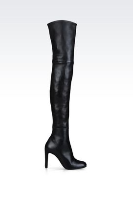 Armani High-heeled boots Women stretch nappa boot