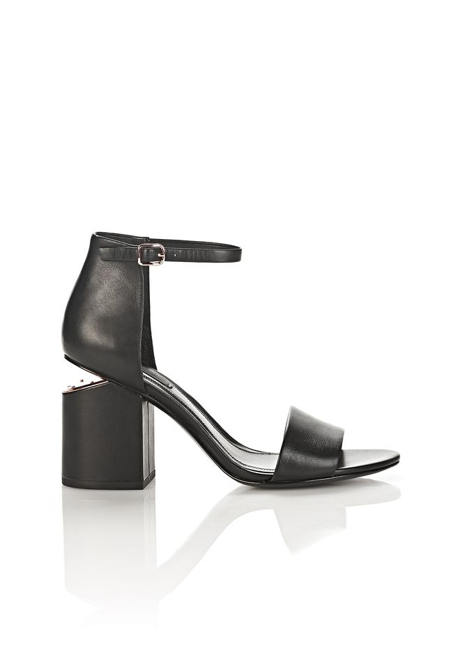 ALEXANDER WANG new-arrivals-shoes-woman ABBY SANDAL WITH ROSE GOLD