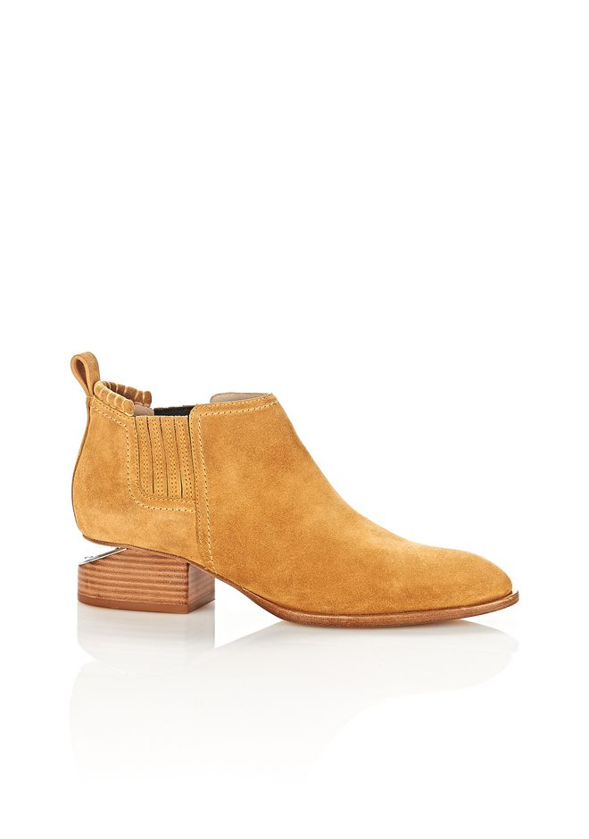 ALEXANDER WANG new-arrivals-shoes-woman KORI SUEDE OXFORD WITH RHODIUM