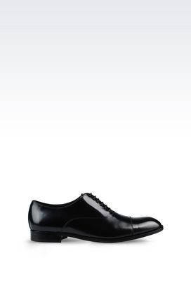 Armani Lace-up shoes Men brogue in brushed calfskin