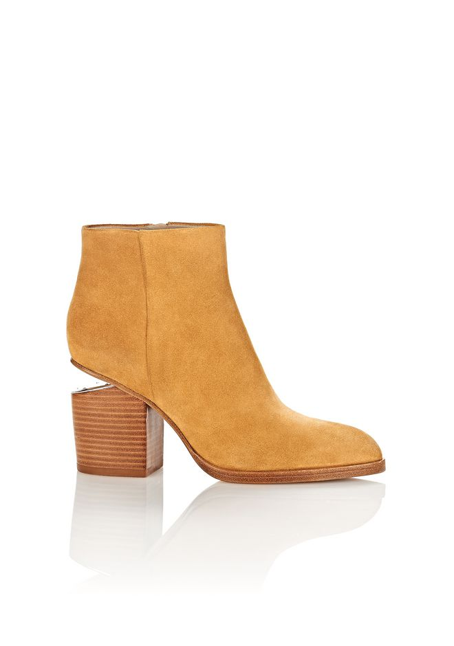 ALEXANDER WANG Boots Women GABI SUEDE BOOTIE WITH RHODIUM