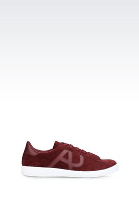 Armani Sneakers Für Ihn sneakers aus wildleder