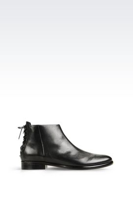 Armani Ankle boots Women half boot in napa leather