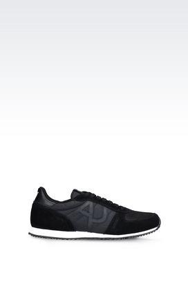 Armani Sneakers Men sneaker in technical fabric