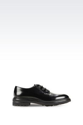 Armani Lace-up shoes Men calfskin lace-up