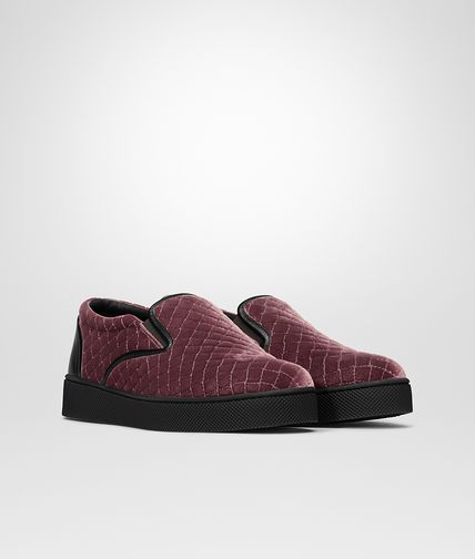 SNEAKER IN BAROLO EMBROIDERED VELVET