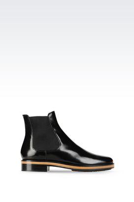 Armani Shoe boots Women calfskin half boot