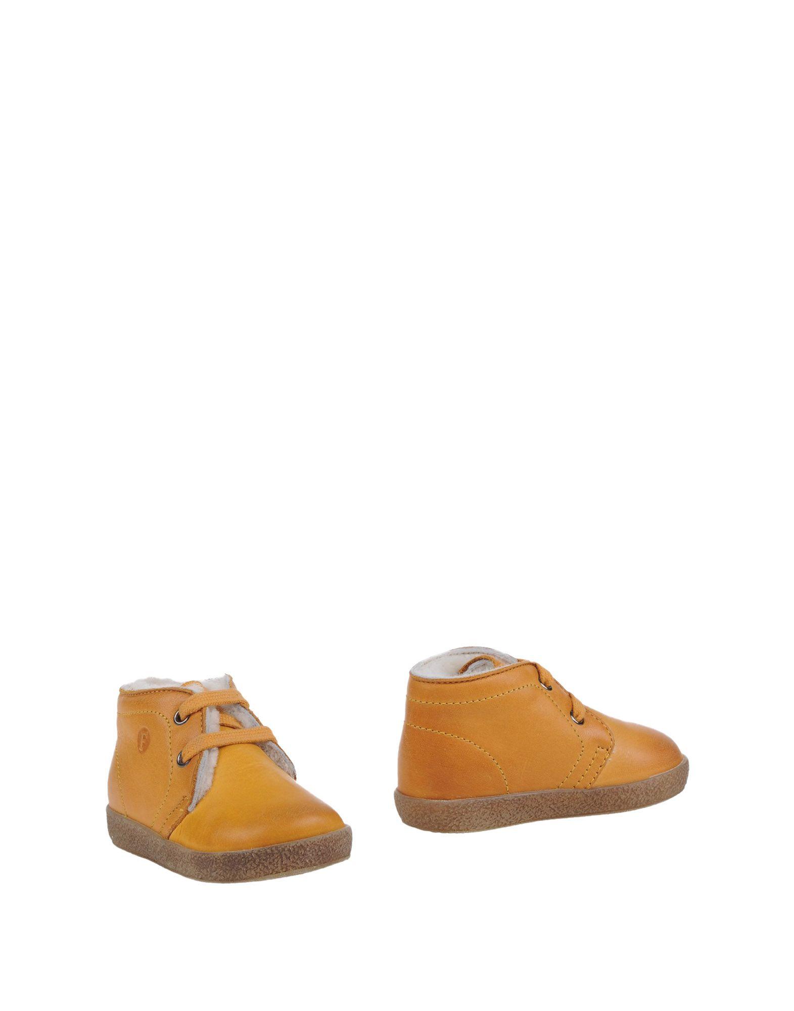 FALCOTTO Jungen 0-24 monate Stiefelette Farbe Ocker Größe 38
