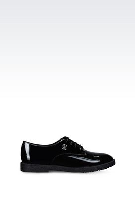 Armani Lace-up shoes Women patent derby