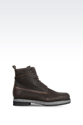 Armani Ankle boots Men calfskin ankle boot
