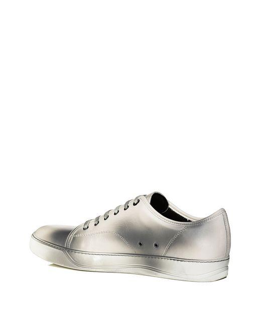 lanvin dbb1 soft calfskin sneaker men