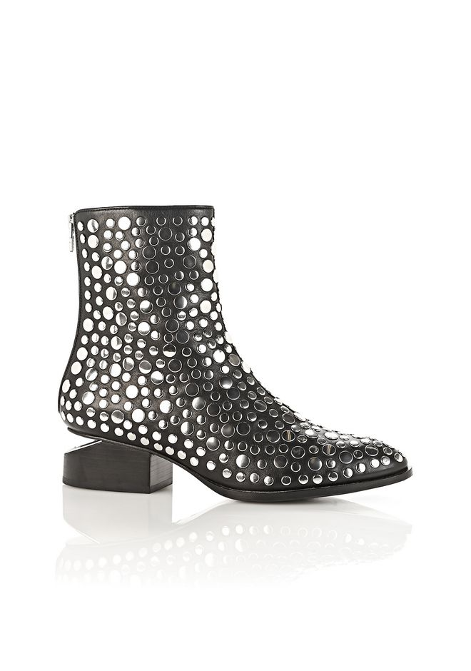 ALEXANDER WANG Boots Women STUDDED ANOUCK BOOT WITH RHODIUM