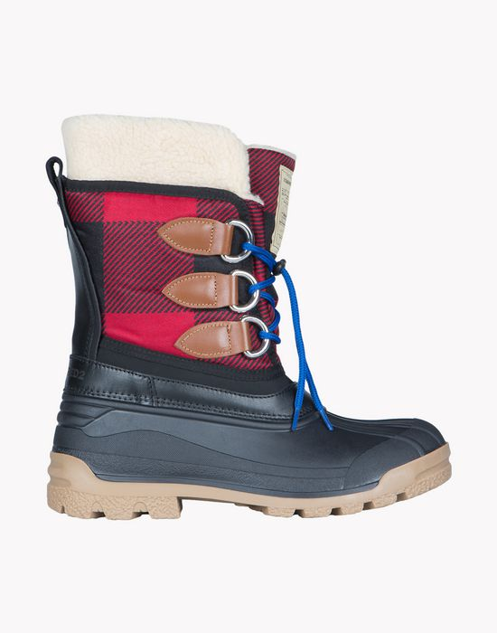 check duck ski snowboots shoes Man Dsquared2
